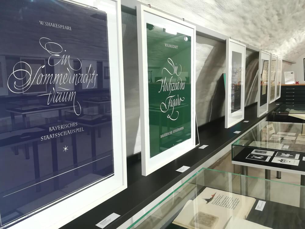 Ausstellung «Ein Jahrhundert – zwei Schriftkünstler. Gudrun Zapf von Hesse und Helmut Matheis»