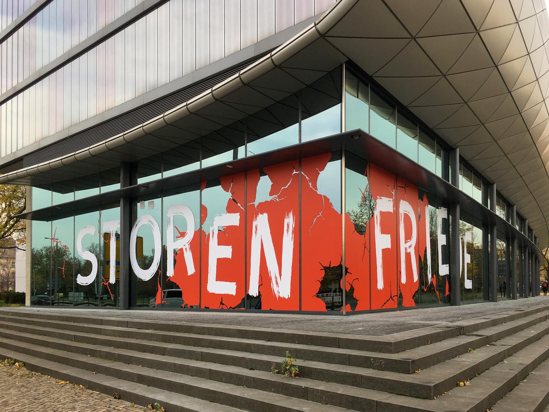 DNB Leipzig: Störenfriede. Kunst, Protest und das Ende der DDR