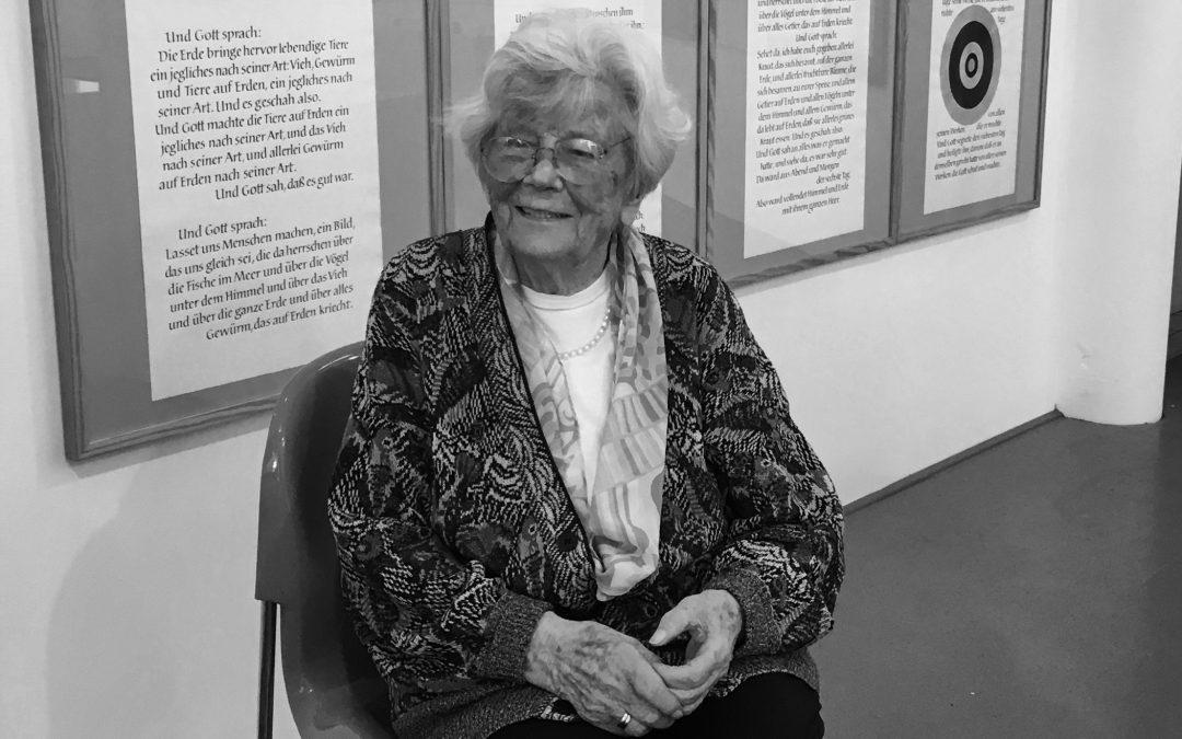 Gudrun Zapf von Hesse verstorben