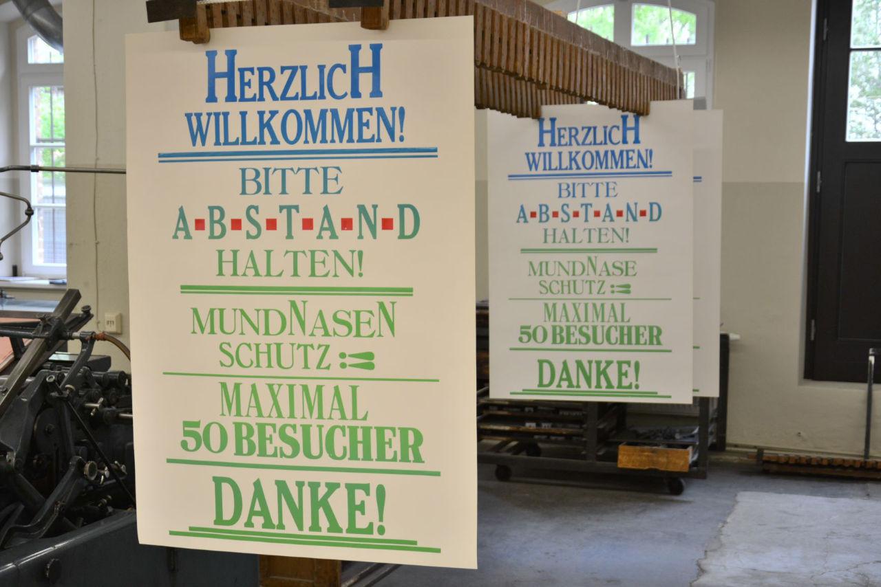 Museum für Druckkunst in Leipzig wieder geöffnet!