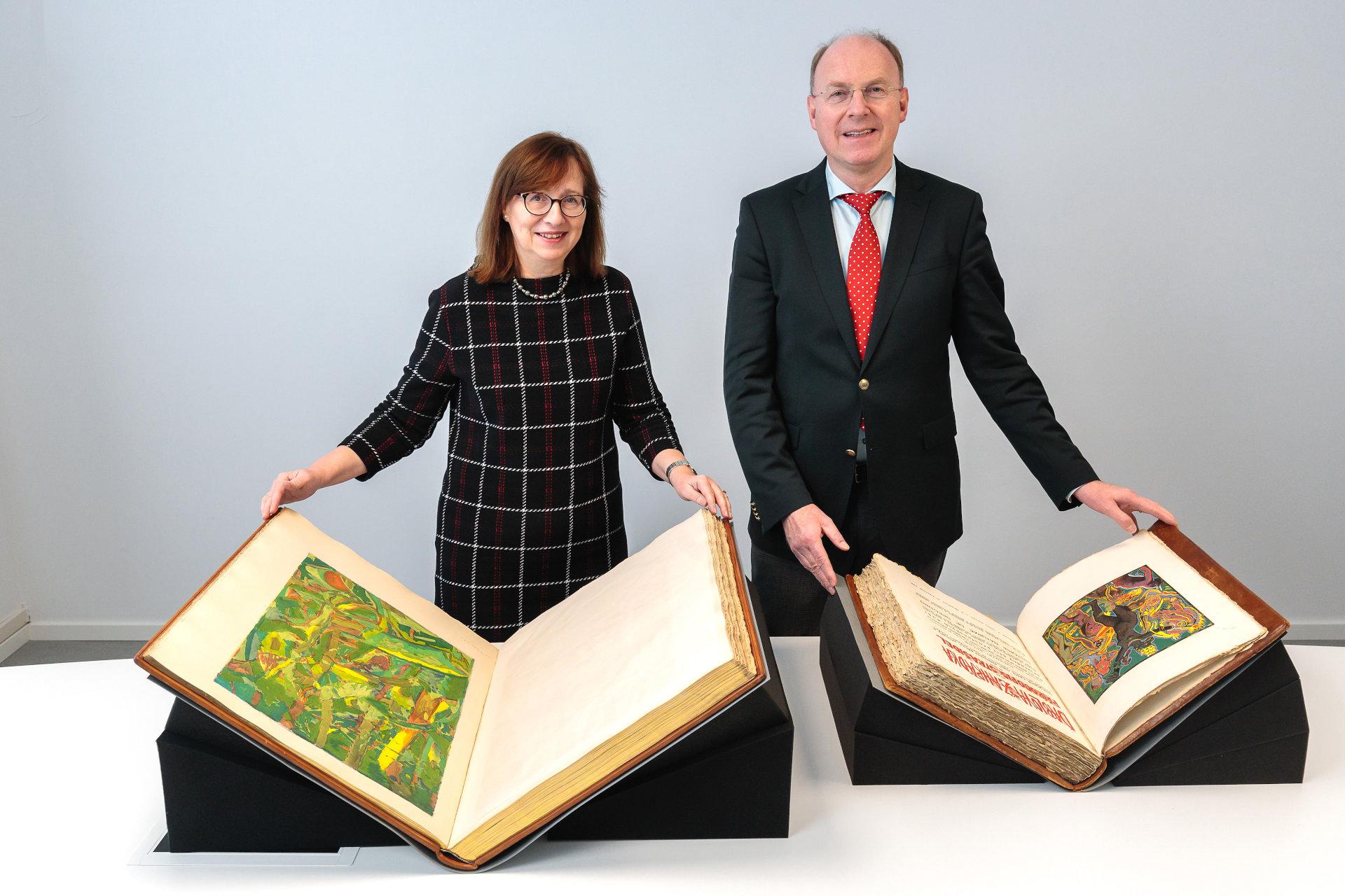 Bayerische Staatsbibliothek erwirbt seltene Künstlerbücher des tschechischen Künstlers Josef Váchal
