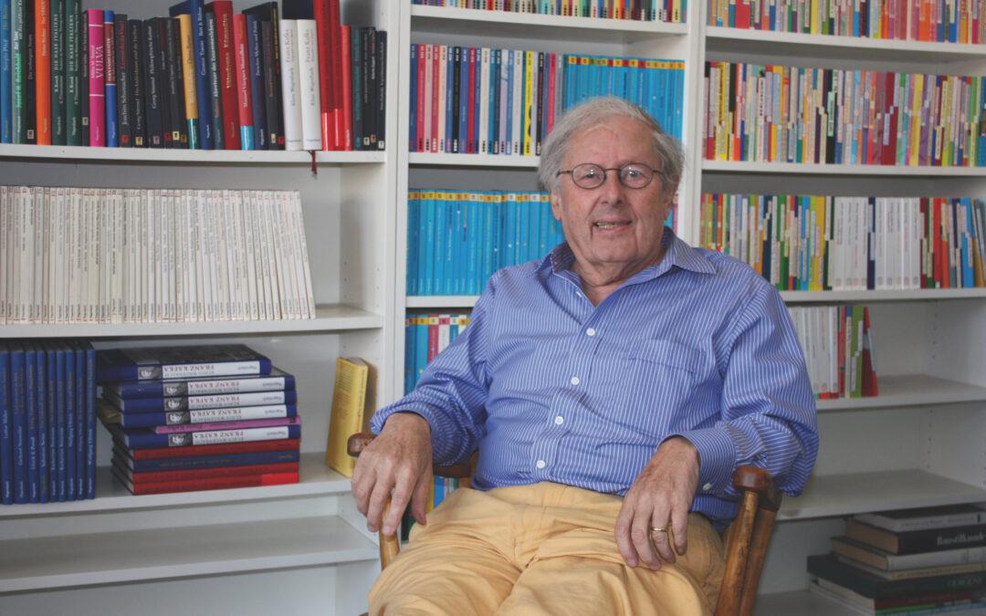 Glückwunsch zu Klaus Wagenbachs 90.Geburtstag
