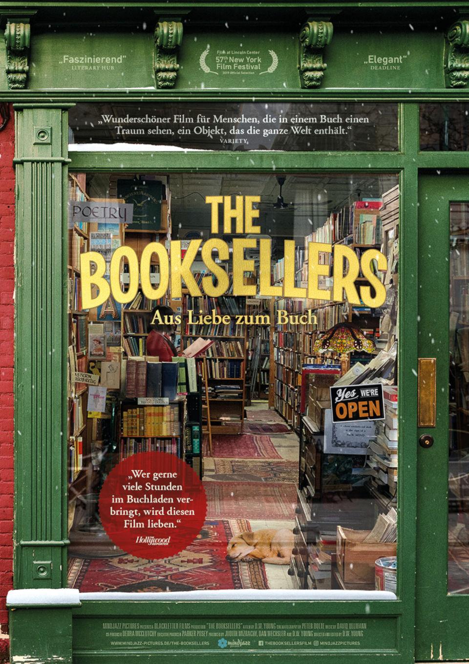 Filmtipp: The Booksellers – aus Liebe zum Buch