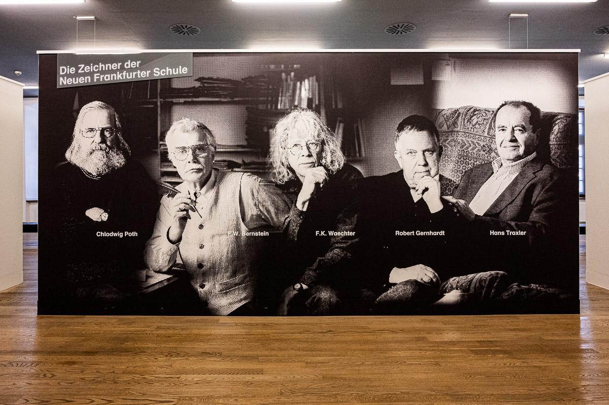 Hessischer Kulturpreis 2020 für das Caricatura Museum Frankfurt und die Caricatura Galerie Kassel