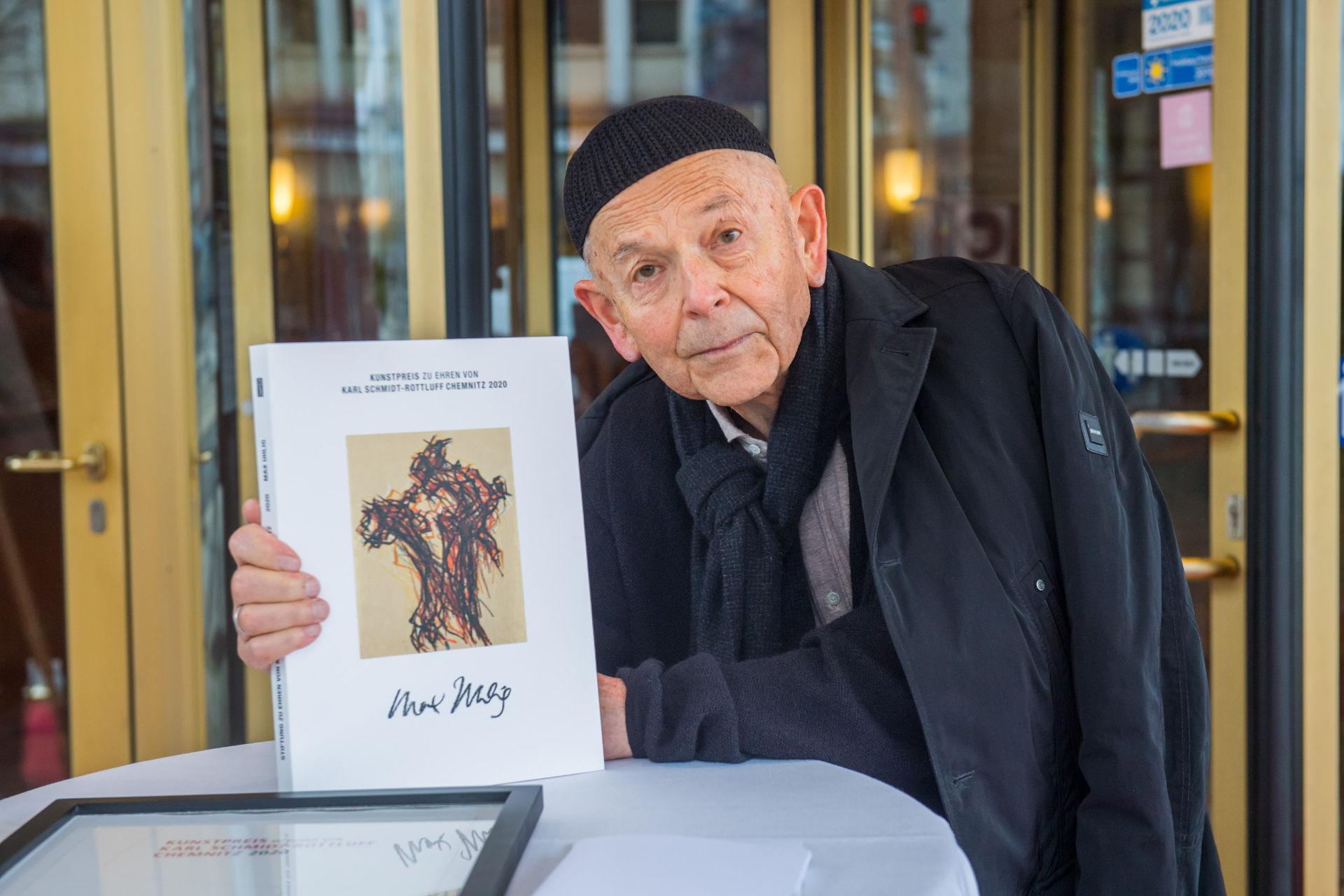Kunstpreis zu Ehren von Karl Schmidt-Rottluff an Max Uhlig