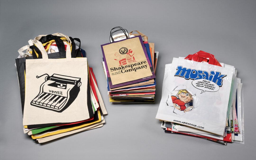 Buchtüten – Werbung für das Buch