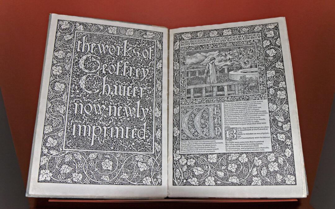 Gutenberg-Museum: Kabinettausstellung «Unsere Schönsten …: Die Bücher der Kelmscott Press»