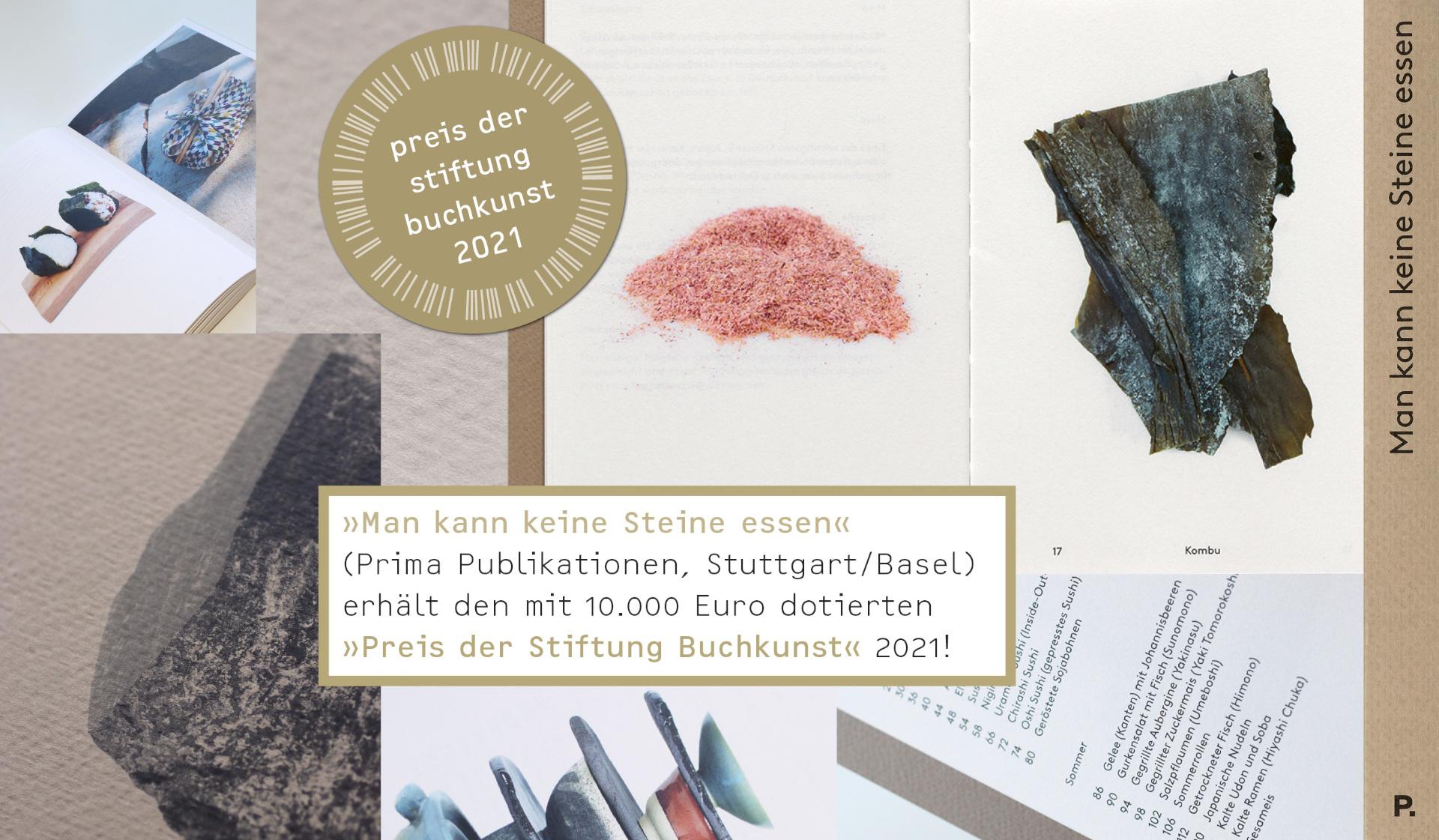 Preis der Stiftung Buchkunst 2021 geht an den Verlag Prima Publikationen